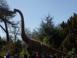 Majestic dinosaur at Jurassic Kingdom
