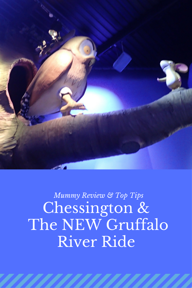 Read my review and top tips for visiting Chessington World of Adventures and the New Gruffalo River Ride