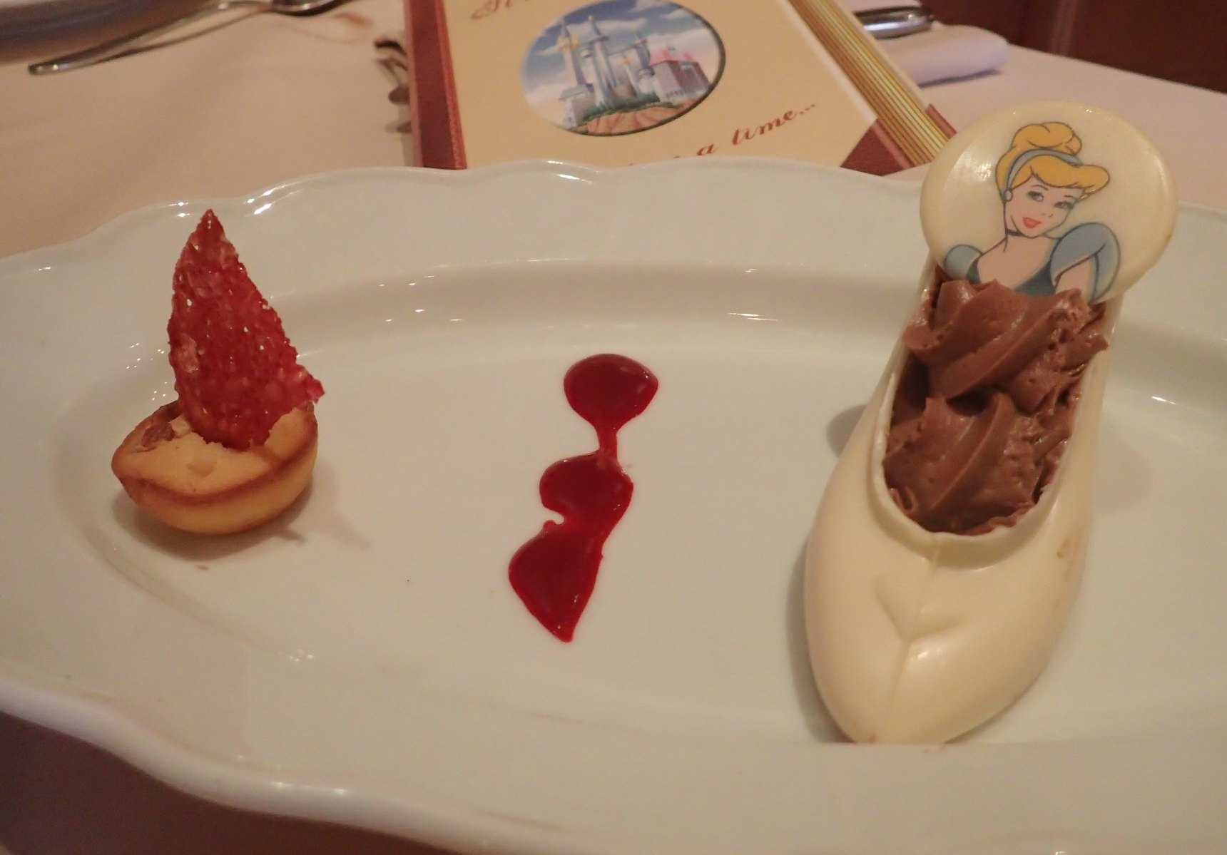 Dessert at Disneyland Paris Auberge