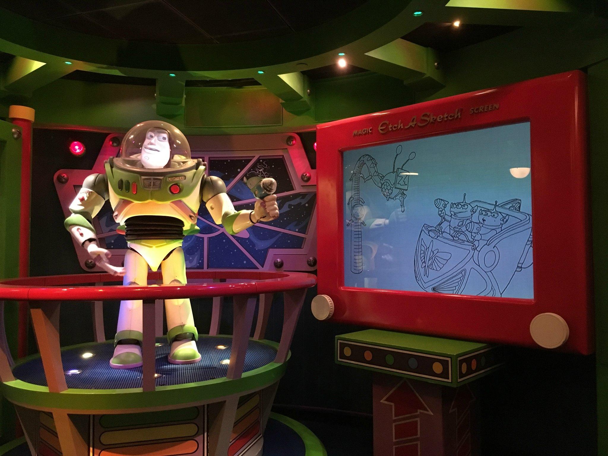 Buzz lightyear laser blast ride