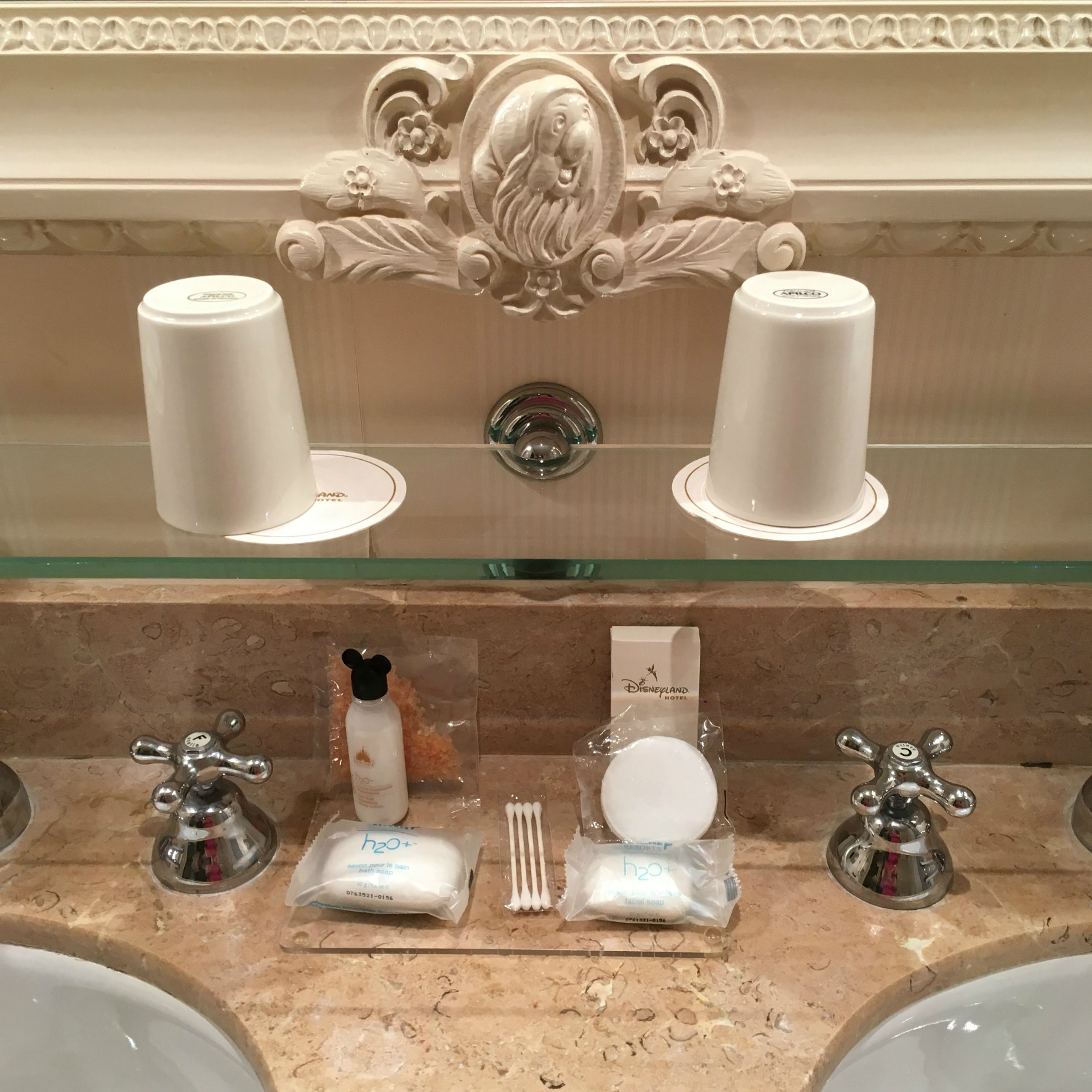 Disneyland hotel bathroom
