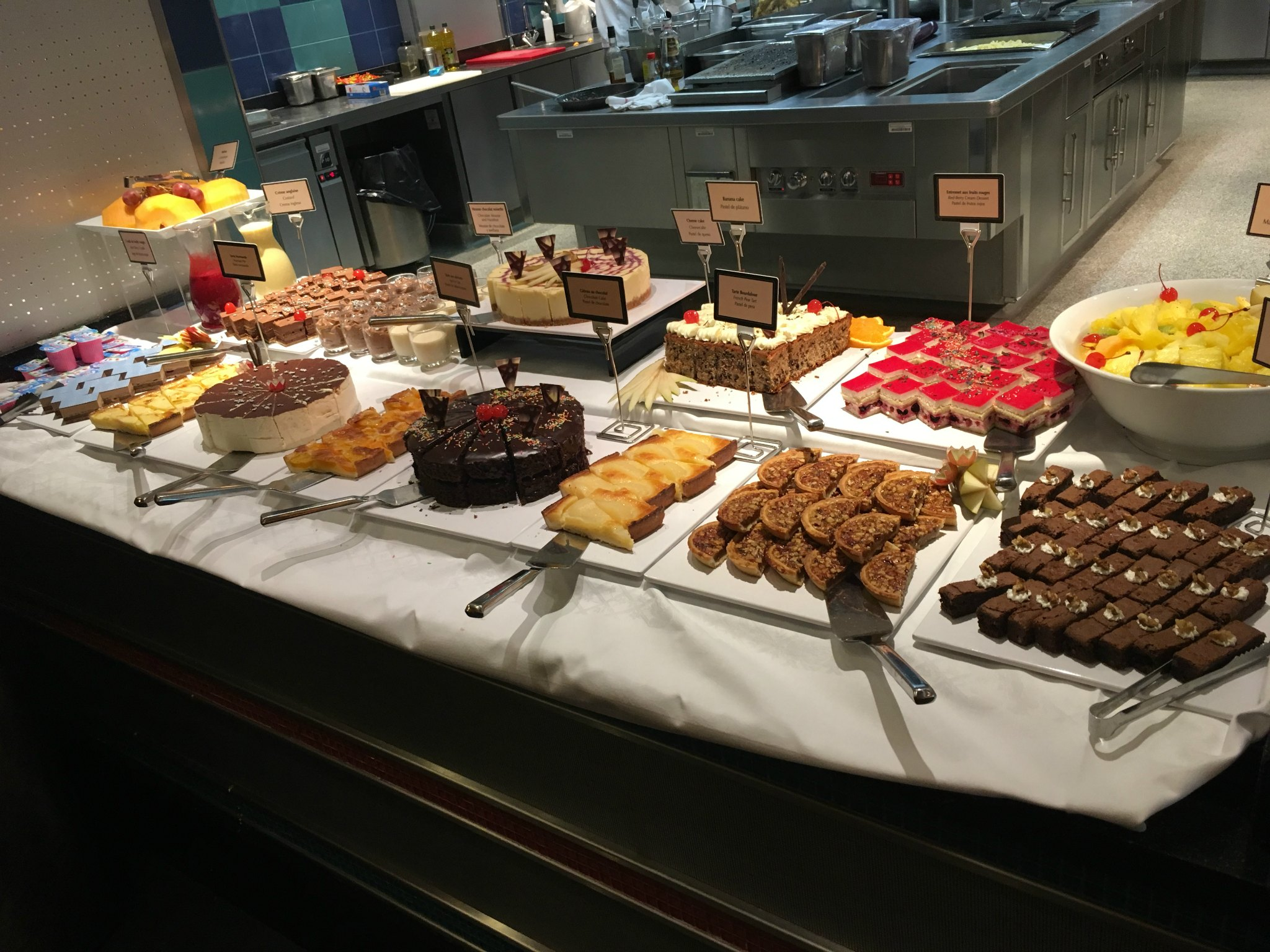 Disney dessert buffet at Cape Cod restaurant