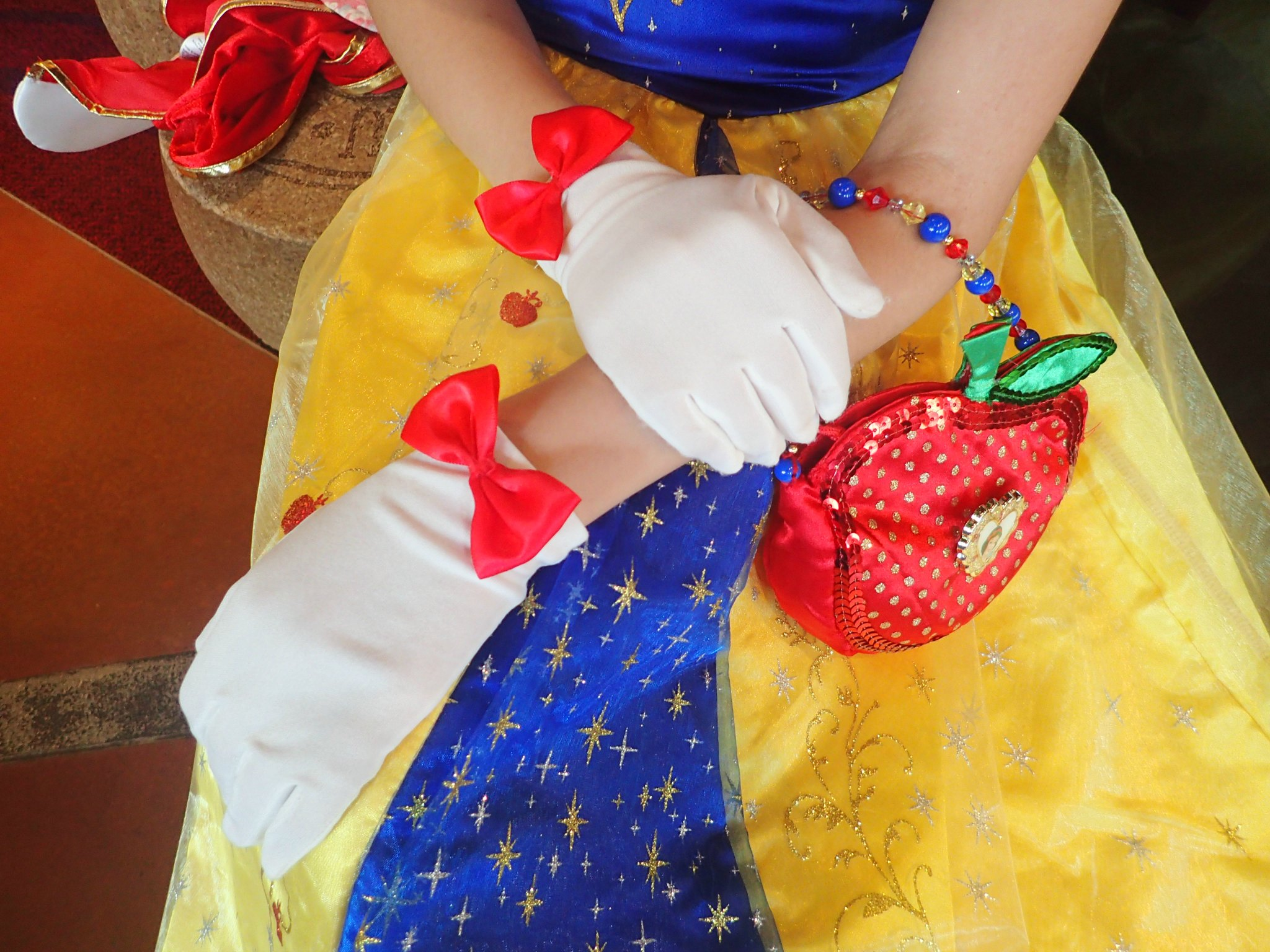 Snow white princess dress
