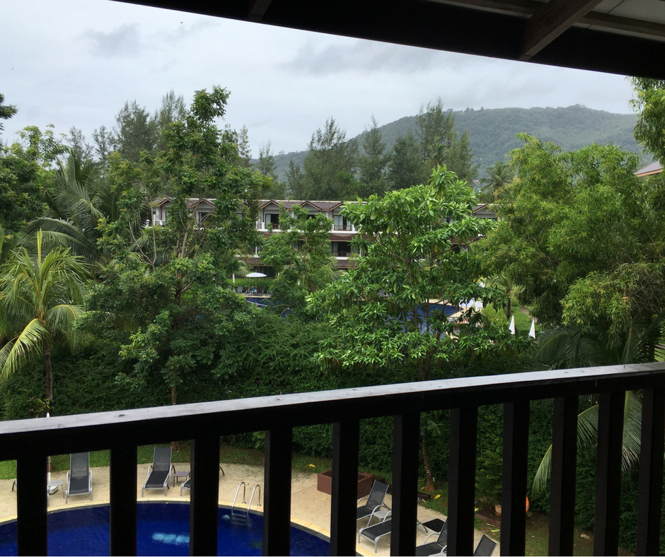 View from our balcony at the Sunwing Kamala Beach