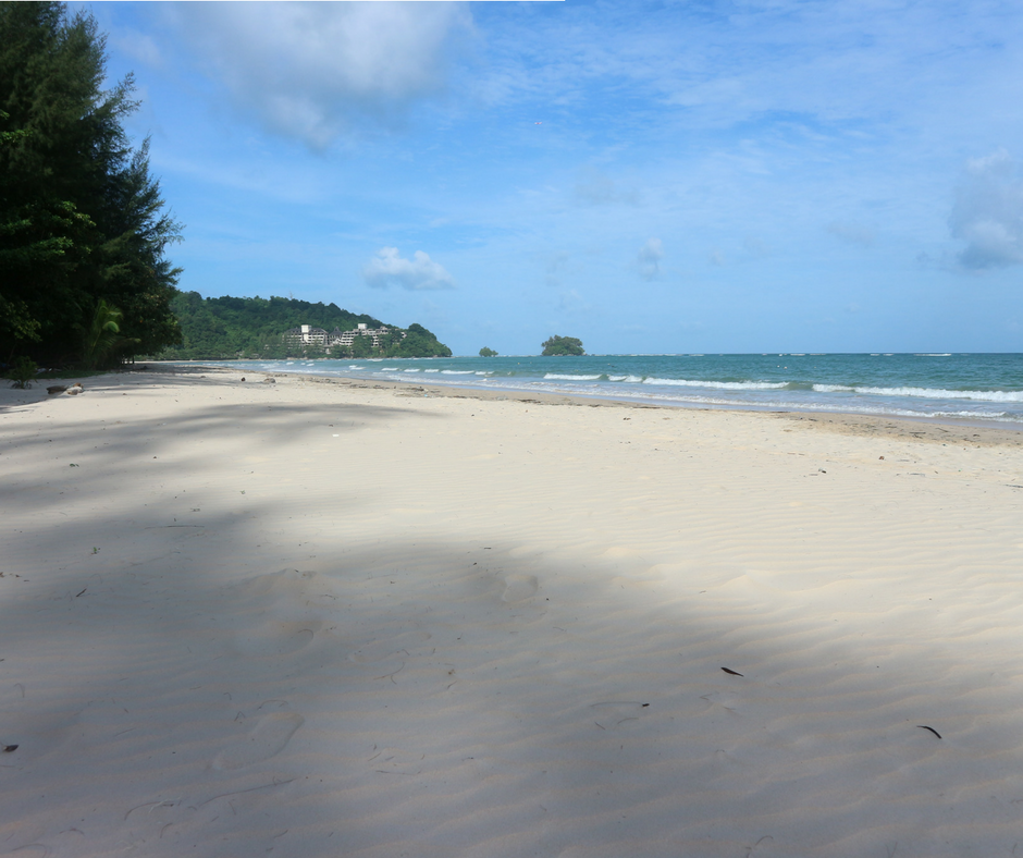 Nai Yang Beach in the morning