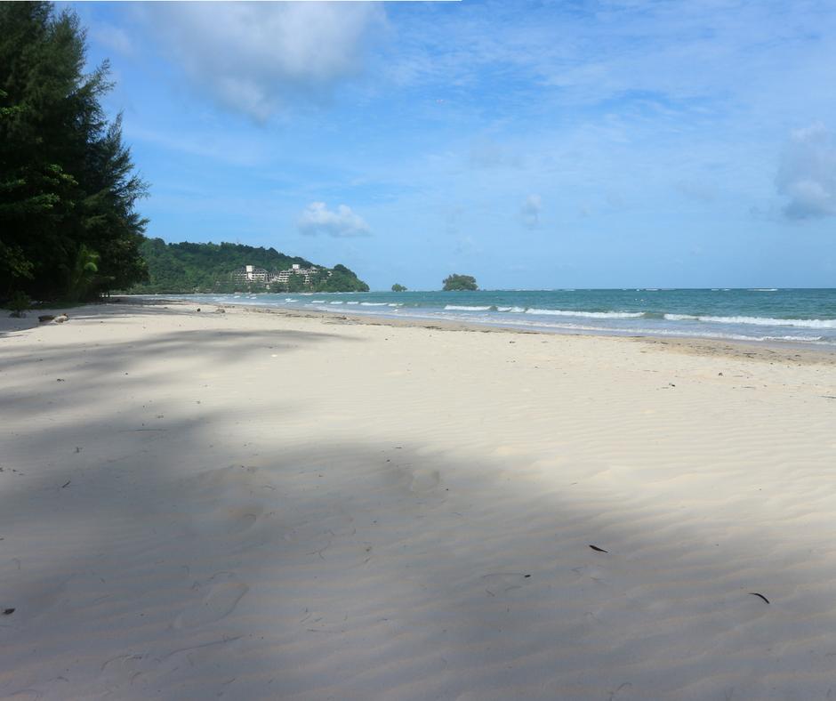 Nai Yang Beach in the morning