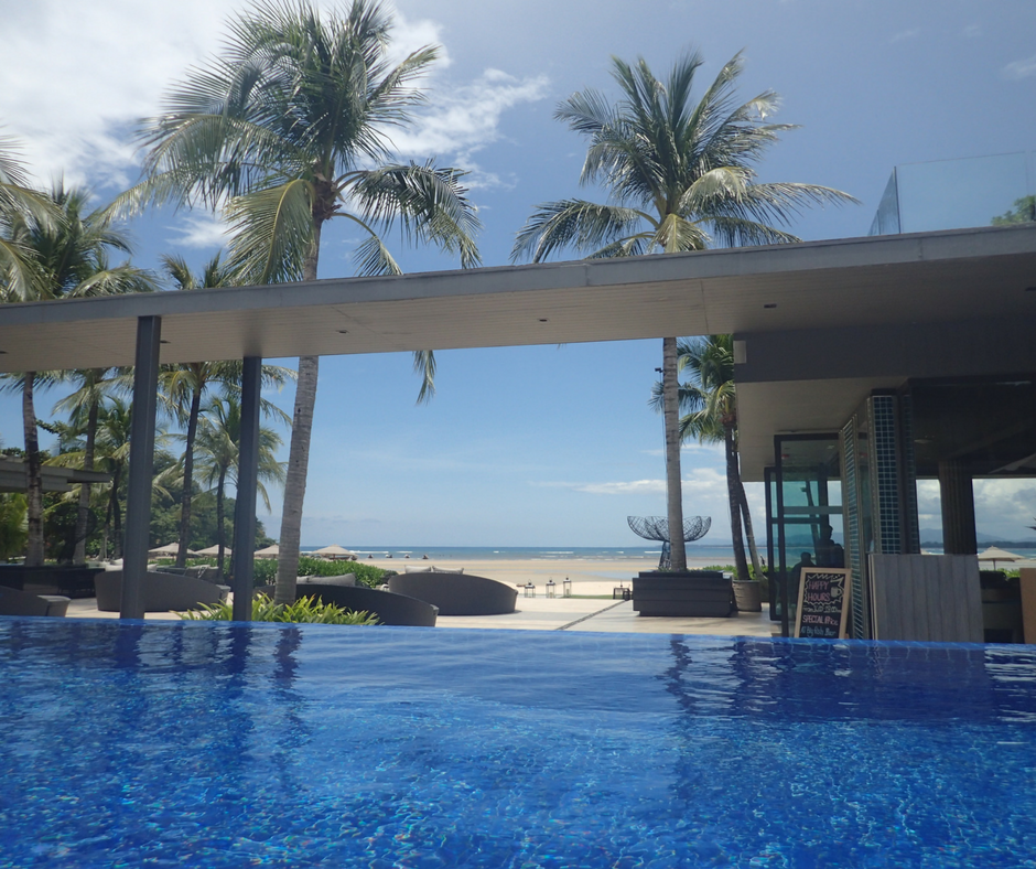 Infinity pool at Phuket Marriott Resort and Spa