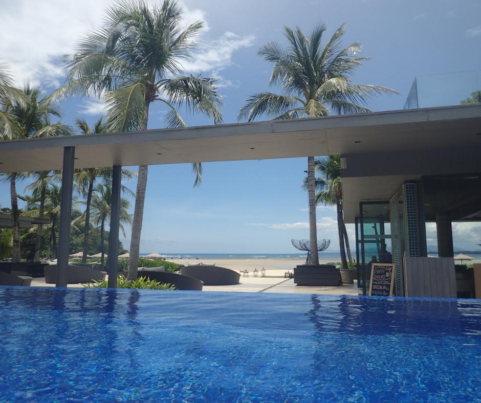 Infinity pool at Phuket Marriott Resort and Spa