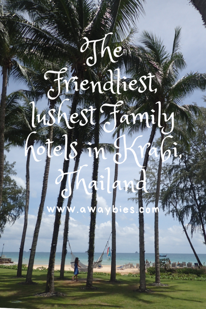 Best hotels for a family holiday in Krabi, Thailand